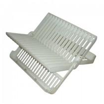 Folding Dish Rack White