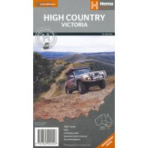 Hema Victorian High Country 4WD Map
