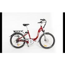 ETOURER S1 E-Bike Ladies Model - Metallic Cherry Red