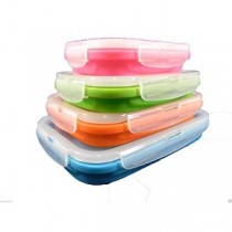Collapsible Rectangular Tub Set of 4