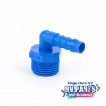 "Plastic 10mm barb to 3/4"" Breather"