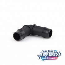 Plastic Barbed 13mm Elbow