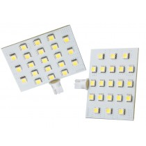LED T10 Wedge Cool White 21SMD