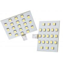 LED T10 Wedge Warm White 21SMD