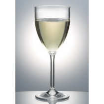 Polysafe Polycarbonate Glass Vino Blanco Goblet 250ML