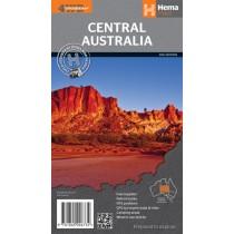 Hema Central Australia 4WD Map