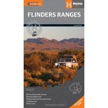 Hema Flinders Ranges 4WD Map