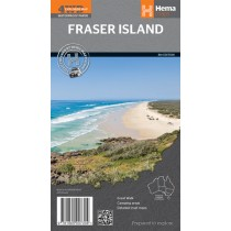 Hema Fraser Island 4WD Map