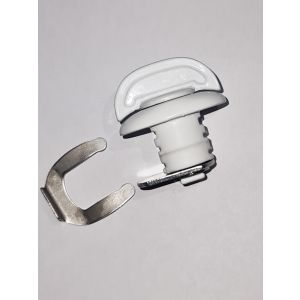 Front Window Shield Lock - White