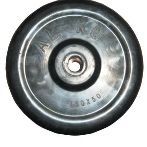 "AL-KO 6"" Replacement Solid Rubber Wheel"
