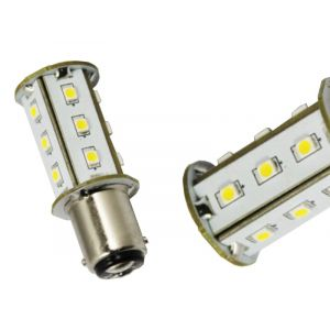 BA15D 18SMD Cool White