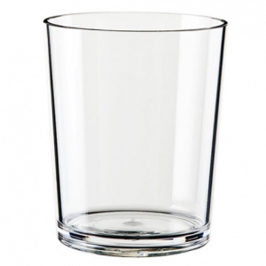 Palm Tritan Afresco Clear Whisky Cup 450ml
