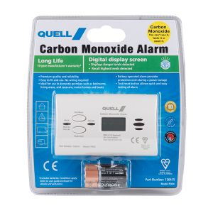 Quell PD04 Carbon Monoxide Digital Display Alarm