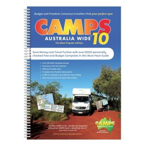 Camps 10 Spiral Bound (A4)