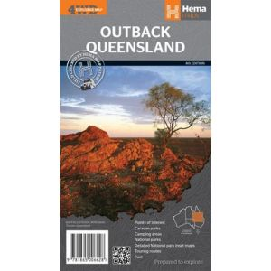 Outback Queensland Map