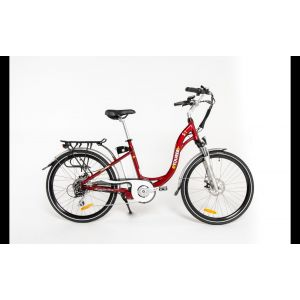 ETOURER S1 E-Bike Ladies Model - Metallic Cherry Red