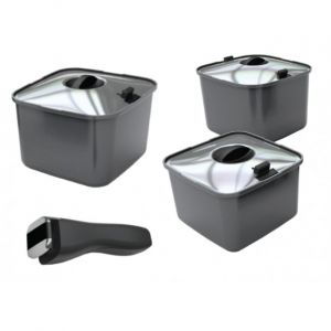 Smartspace Pots with Lids