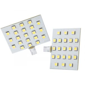 LED T10 Wedge Warm White 21SMD