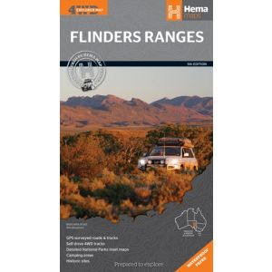Hema Flinders Ranges 4WD Map