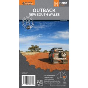 Hema Outback New South Wales 4WD Map